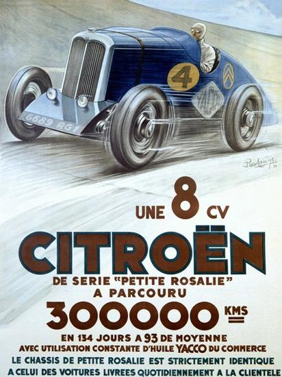 Citroen 8-CV Petite Rosalie Louys | Vintage Cars 1891-1970