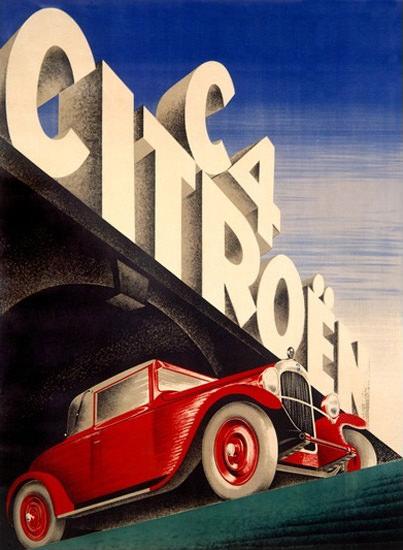 Citroen C4 Automobile Red | Vintage Cars 1891-1970