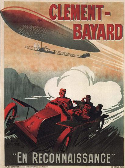 Clement Bayard Zeppelin En Reconnaissance | Vintage Cars 1891-1970