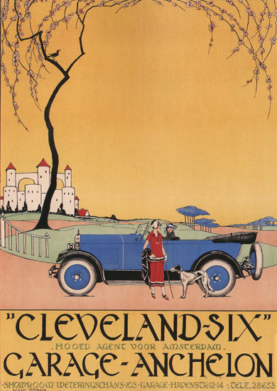 Cleveland-Six Garage-Anchelon Amsterdam NL | Vintage Cars 1891-1970