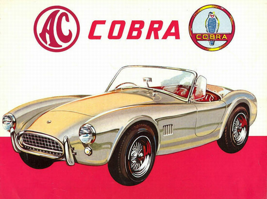 AC Cobra 1962 by Carroll Shelby With Ford V8 Engine | Vintage Cars 1891-1970