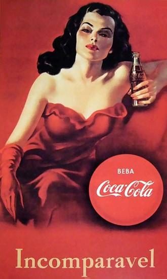 Coca-Cola Incomparavel Beba Coca-Cola Coke | Sex Appeal Vintage Ads and Covers 1891-1970