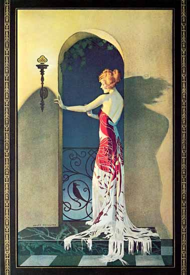Coles Phillips Home Lighting Co 1925 Sex Appeal   Sex Appeal Vintage Ads and Covers 1891-1970