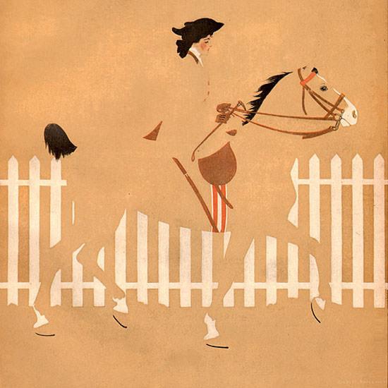 Coles Phillips Life Humor Magazine 1908-11-12 Copyright crop   Best of Vintage Cover Art 1900-1970