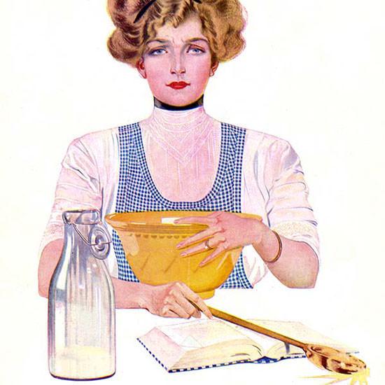 Coles Phillips Life Magazine Light 1911-10-12 Copyright crop | Best of Vintage Cover Art 1900-1970