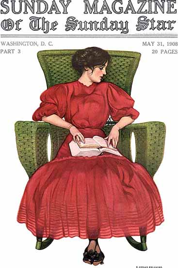 Coles Phillips Sunday Magazine Sunday Star 1908 Sex Appeal | Sex Appeal Vintage Ads and Covers 1891-1970