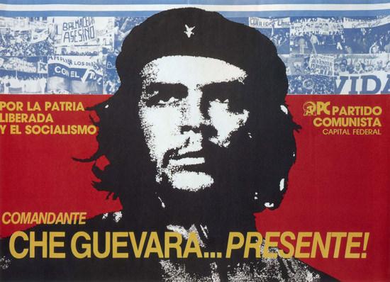 Comandante Che Guevara Presidente Por Patria | Vintage War Propaganda Posters 1891-1970