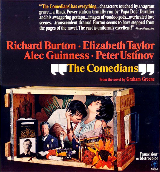 Comedians Richard Burton Elizabeth Taylor 1967 | Sex Appeal Vintage Ads and Covers 1891-1970