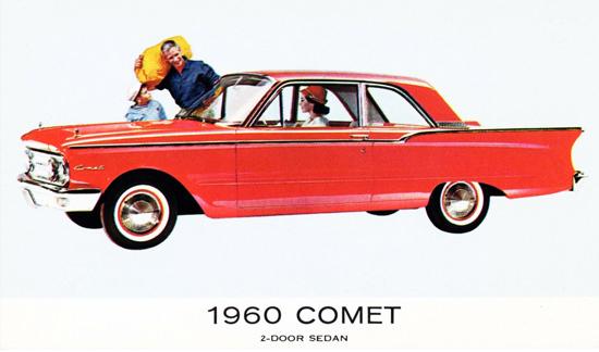 Comet Sedan 1960 Red | Vintage Cars 1891-1970