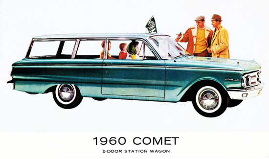 Comet Station Wagon 1960 | Vintage Cars 1891-1970