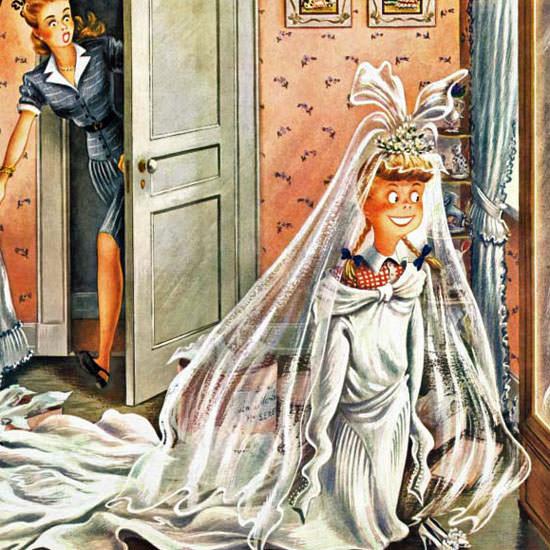 Constantin Alajalov Saturday Evening Post 1946_06_01 Copyright crop   Best of Vintage Cover Art 1900-1970