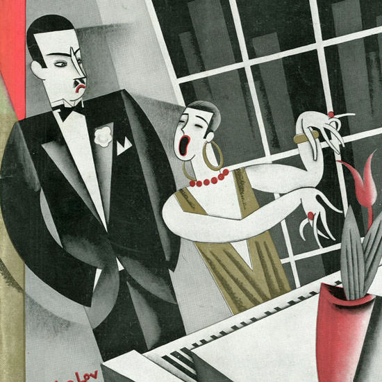 Constantin Alajalov The New Yorker 1926_09_25 Copyright crop | Best of 1920s Ad and Cover Art