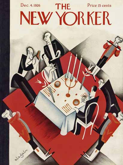 Constantin Alajalov The New Yorker 1926_12_04 Copyright | The New Yorker Graphic Art Covers 1925-1945