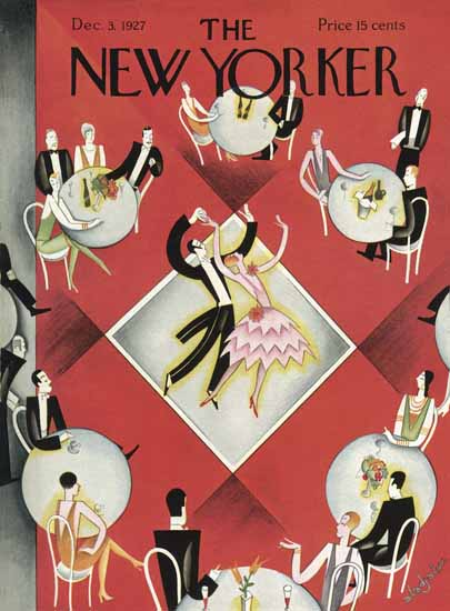 Constantin Alajalov The New Yorker 1927_12_03 Copyright | The New Yorker Graphic Art Covers 1925-1945