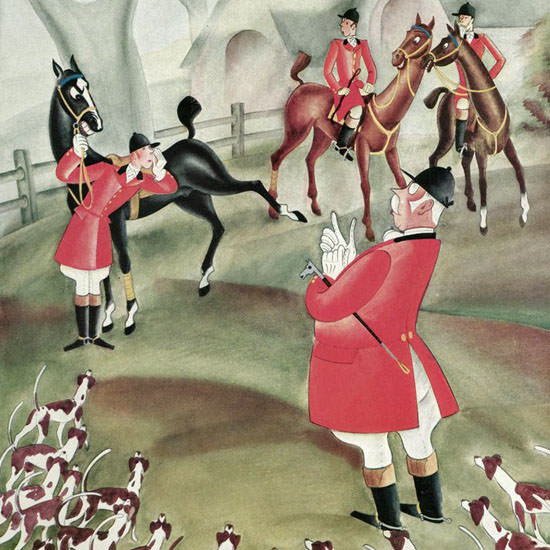 Constantin Alajalov The New Yorker 1929_11_02 Copyright crop | Best of 1920s Ad and Cover Art