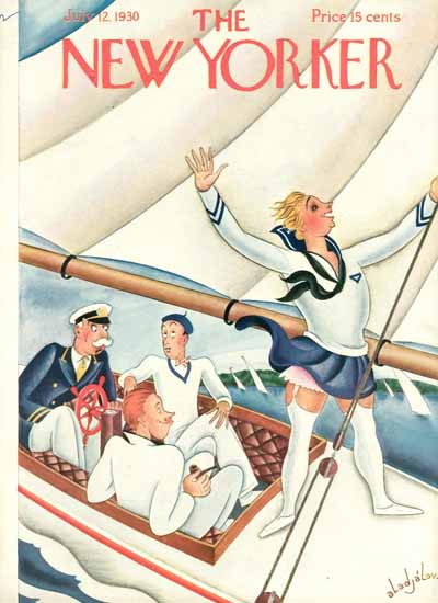 Constantin Alajalov The New Yorker 1930_07_12 Copyright | The New Yorker Graphic Art Covers 1925-1945