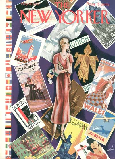 Constantin Alajalov The New Yorker 1932_05_28 Copyright | The New Yorker Graphic Art Covers 1925-1945