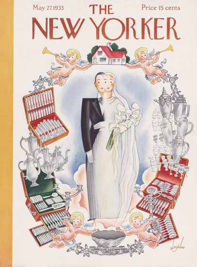 Constantin Alajalov The New Yorker 1933_05_27 Copyright | The New Yorker Graphic Art Covers 1925-1945