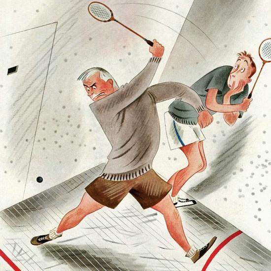 Constantin Alajalov The New Yorker 1936_03_07 Copyright crop | Best of Vintage Cover Art 1900-1970