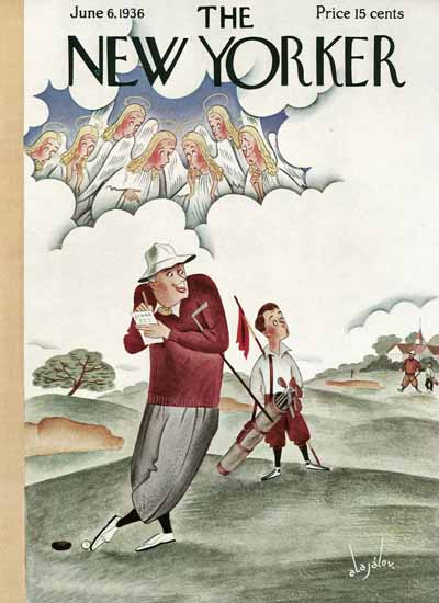 Constantin Alajalov The New Yorker 1936_06_06 Copyright | The New Yorker Graphic Art Covers 1925-1945