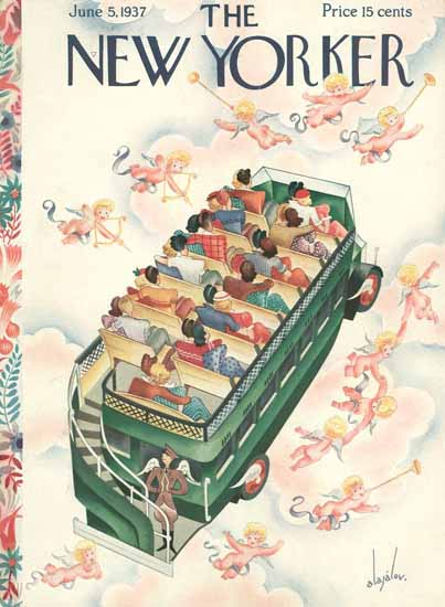 Constantin Alajalov The New Yorker 1937_06_05 Copyright | The New Yorker Graphic Art Covers 1925-1945