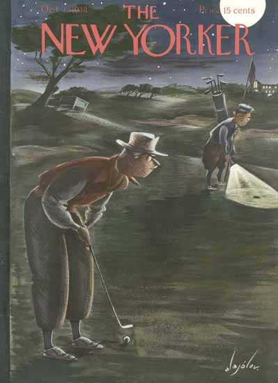 Constantin Alajalov The New Yorker 1938_10_01 Copyright | The New Yorker Graphic Art Covers 1925-1945