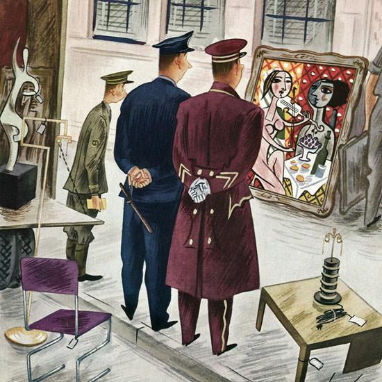 Constantin Alajalov The New Yorker 1941_09_27 Copyright crop | Best of Vintage Cover Art 1900-1970