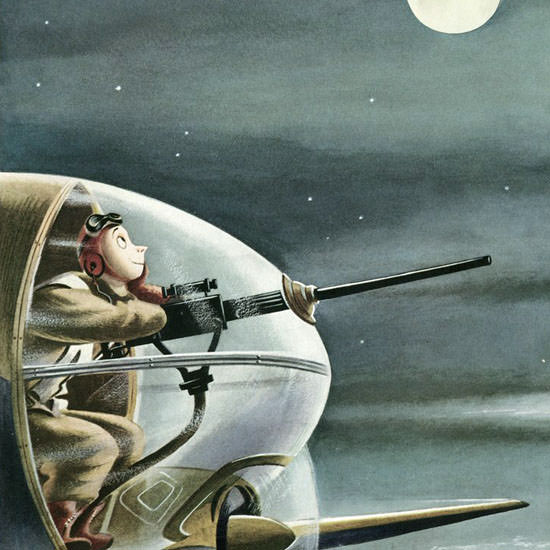 Constantin Alajalov The New Yorker 1942_08_22 Copyright crop | Best of Vintage Cover Art 1900-1970
