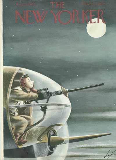 Constantin Alajalov The New Yorker 1942_08_22 Copyright | The New Yorker Graphic Art Covers 1925-1945