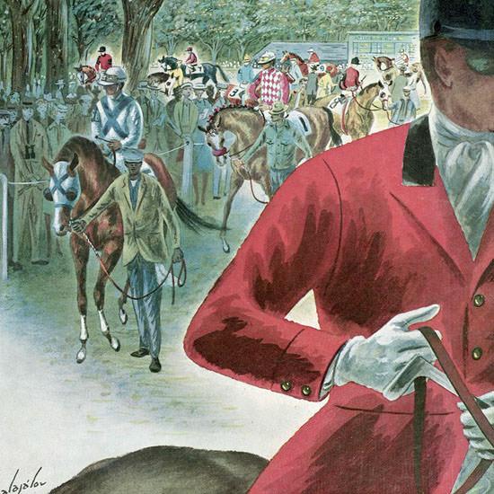 Constantin Alajalov The New Yorker 1960_09_24 Copyright crop | Best of Vintage Cover Art 1900-1970