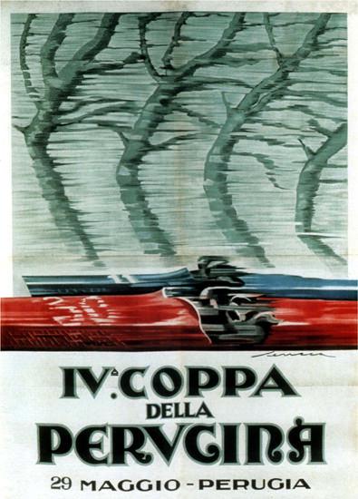 Coppa Della Perugina Perugia Italy Italia   Vintage Ad and Cover Art 1891-1970