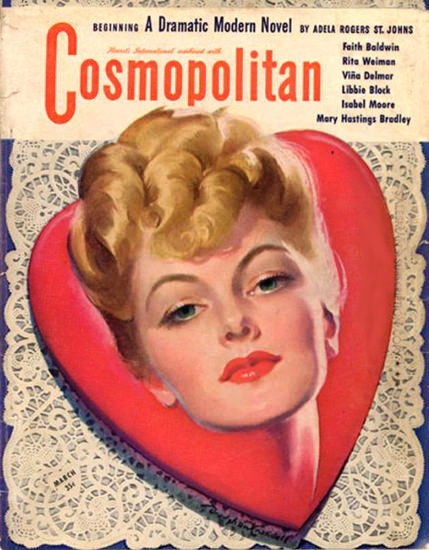 Cosmopolitan Magazine Adela Rogers St Johns | Sex Appeal Vintage Ads and Covers 1891-1970