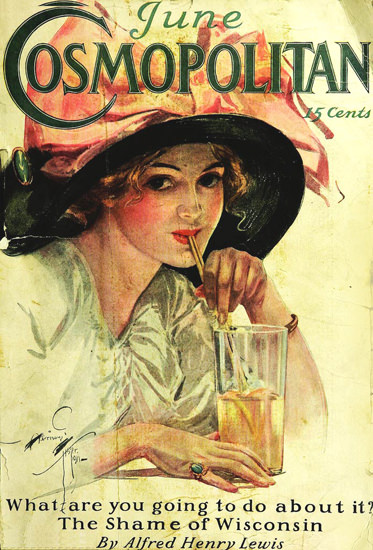 Cosmopolitan Magazine Alfred Henry Lewis | Sex Appeal Vintage Ads and Covers 1891-1970