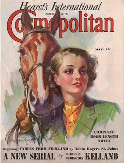 Cosmopolitan Magazine Copyright 1937 Adela Rogers | Sex Appeal Vintage Ads and Covers 1891-1970