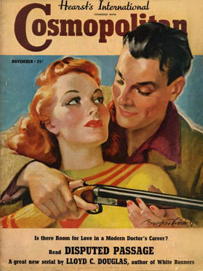 Cosmopolitan Magazine Copyright 1938 Lloyd C Douglas | Sex Appeal Vintage Ads and Covers 1891-1970