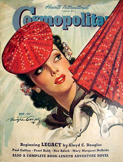 Cosmopolitan Magazine Copyright 1940 Legacy | Sex Appeal Vintage Ads and Covers 1891-1970