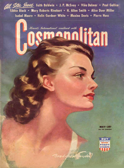 Cosmopolitan Magazine Copyright 1942 Faith Baldwin | Sex Appeal Vintage Ads and Covers 1891-1970