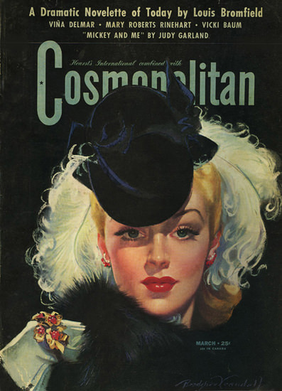 Cosmopolitan Magazine Copyright 1942 Story By Judy Garland | Sex Appeal Vintage Ads and Covers 1891-1970