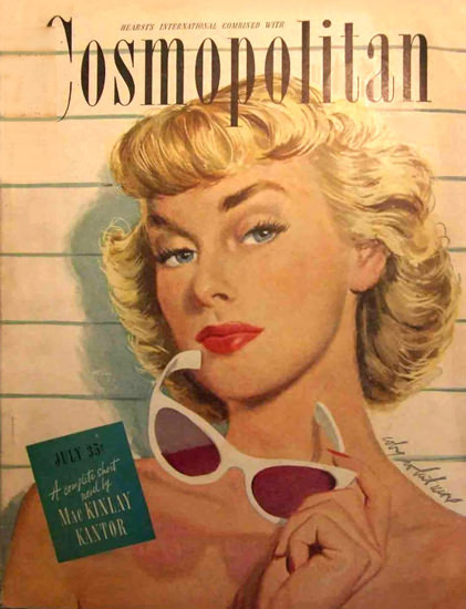 Cosmopolitan Magazine Copyright 1947 Mac Kinlay Kantor | Sex Appeal Vintage Ads and Covers 1891-1970