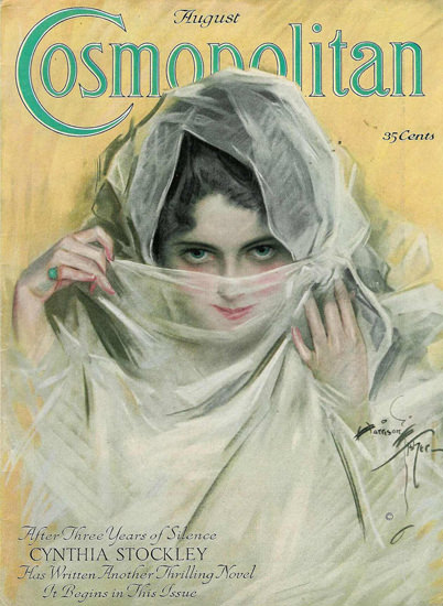 Cosmopolitan Magazine Cynthia Stockley | Sex Appeal Vintage Ads and Covers 1891-1970