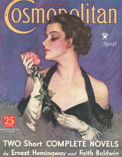 Cosmopolitan Magazine Faith Baldwin | Sex Appeal Vintage Ads and Covers 1891-1970