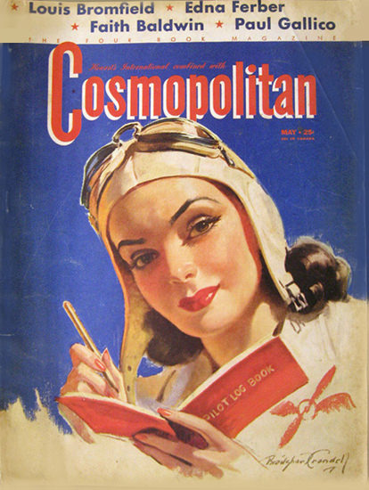Cosmopolitan Magazine Louis Bromfield | Sex Appeal Vintage Ads and Covers 1891-1970