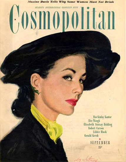Cosmopolitan Magazine Maxine Davis | Sex Appeal Vintage Ads and Covers 1891-1970