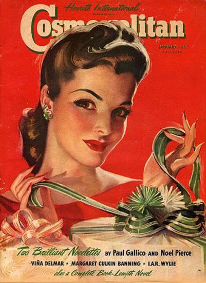 Cosmopolitan Magazine Paul Gallico Noel Pierce | Sex Appeal Vintage Ads and Covers 1891-1970