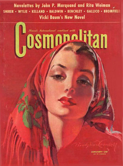 Cosmopolitan Magazine Vicki Baum | Sex Appeal Vintage Ads and Covers 1891-1970