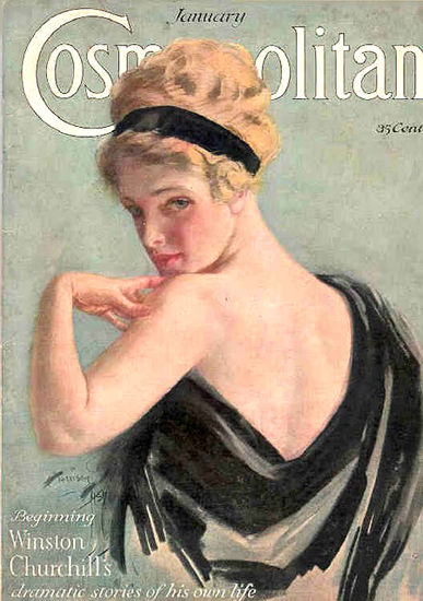 Cosmopolitan Magazine Winston Churchill Stories | Sex Appeal Vintage Ads and Covers 1891-1970