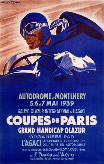 Coupes De Paris Grand Handicap Olazur 1939 | Vintage Ad and Cover Art 1891-1970