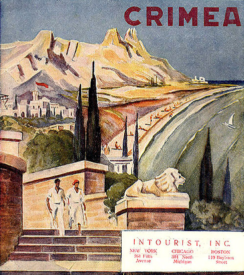 Crimea Intourist Inc | Vintage Travel Posters 1891-1970