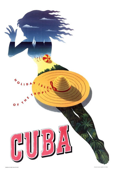 Cuba Holiday Isle Of The Tropics 1950s | Sex Appeal Vintage Ads and Covers 1891-1970