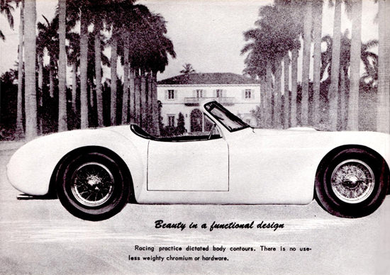 Cunningham Model C 2 1951 No Useless Weight | Vintage Cars 1891-1970